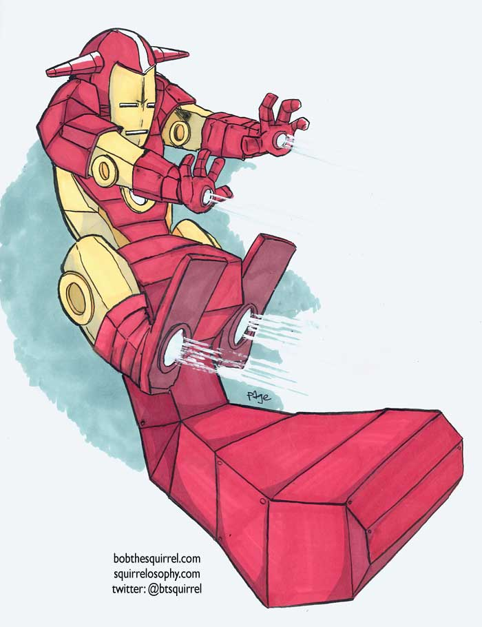 iron man bob